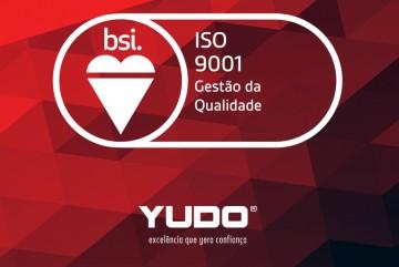 Somos referência!  Somos ISO 9001.